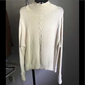 Gap cable knit sweater - L - ivory - like new